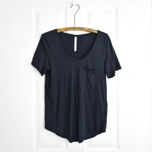 Aritzia The Group Babaton Navy T Shirt